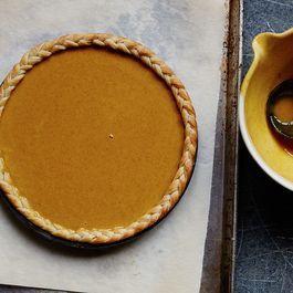 Chai Masala Pumpkin Pie
