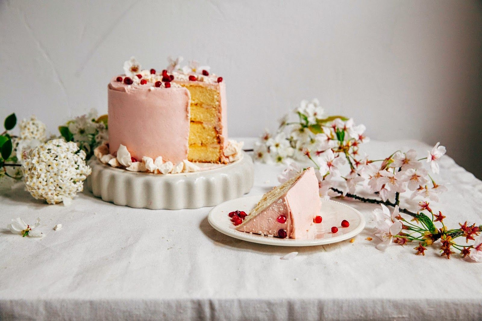 Pomegranate Citrus Cake