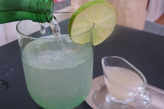 Fresh lime soda