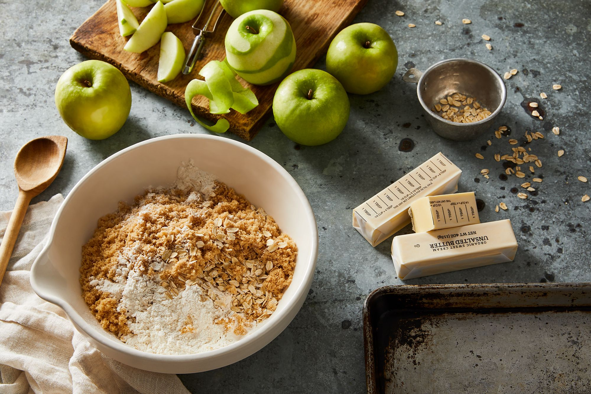 For the Crispiest Apple Crisp, Look to a Sheet Pan