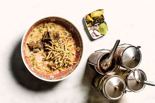 This Spicy Thai Noodle Soup Is a Bowl of Slurpable Comfort