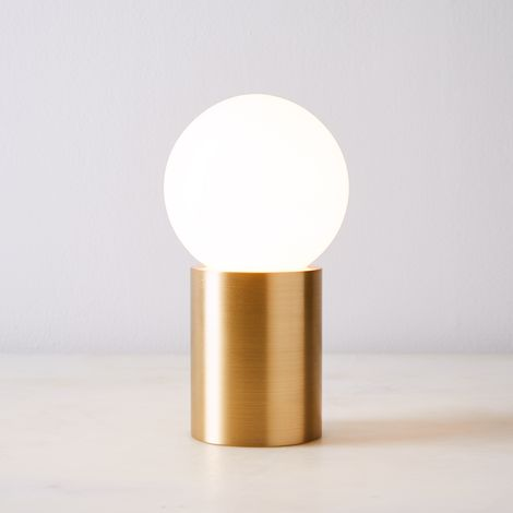 Brass Socket Table Lamp