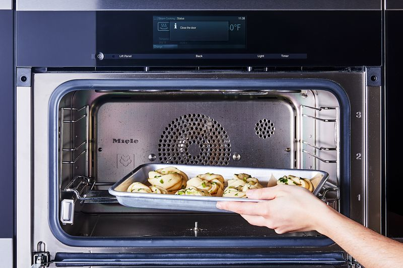 You can steam a bunch of buns at once using a Combi-Steam Oven.