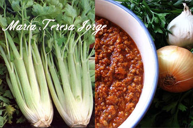 Tuscan stuffed Celery