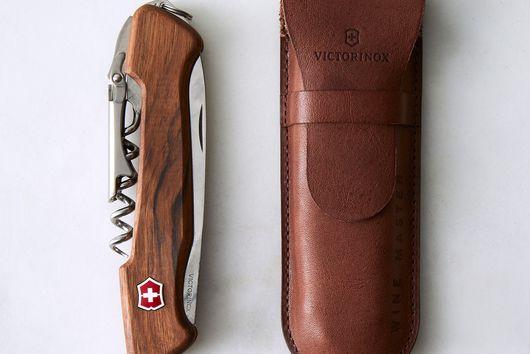 Walnut Swiss Army Pocket Knife