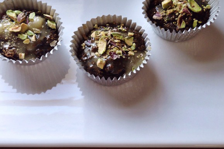 Matcha Green Tea & Date Muffins