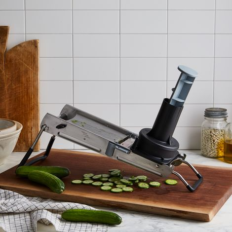 Stainless Steel Mandoline & Slicing Attachment