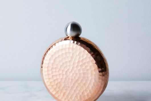 Hand Hammered Copper Flasks