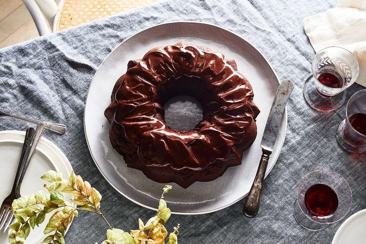 Paula Shoyer's Chocolate Quinoa Cake