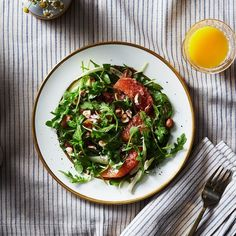 Sugared Grapefruit Salad with Fennel and Mint