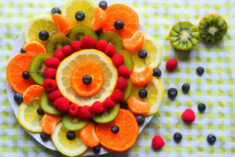 Fruit Flower Food Art