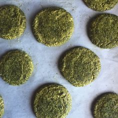 TRIPLE GINGER MATCHA COOKIES