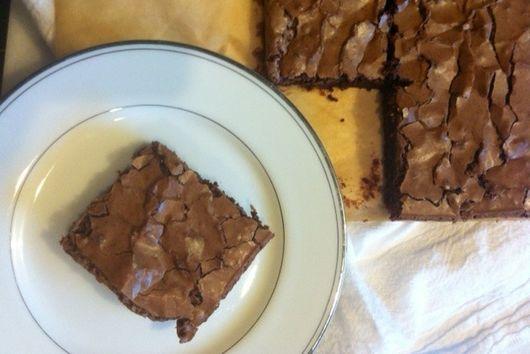 85% dark chocolate brownies