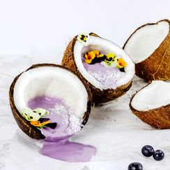 BLUEBERRY AND COCONUT BREAKFAST BOWL