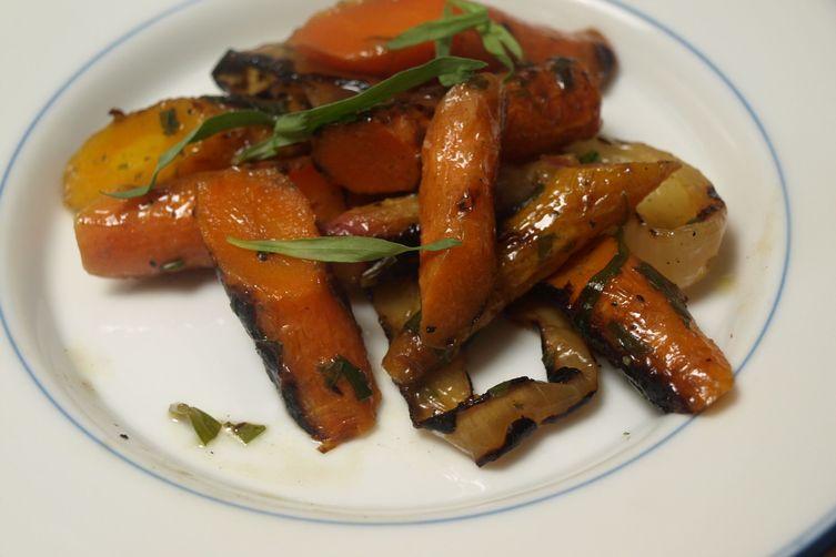 Grilled Tarragon Carrots