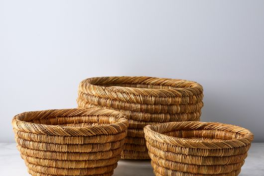 Handwoven Nesting Storage Bowls (Set of 3)