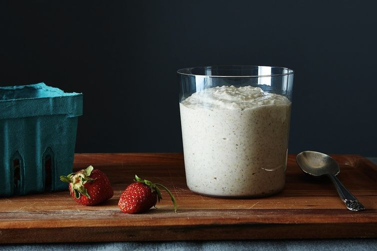 Raw Buckwheat Breakfast Porridge
