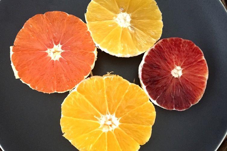 Four citrus salad