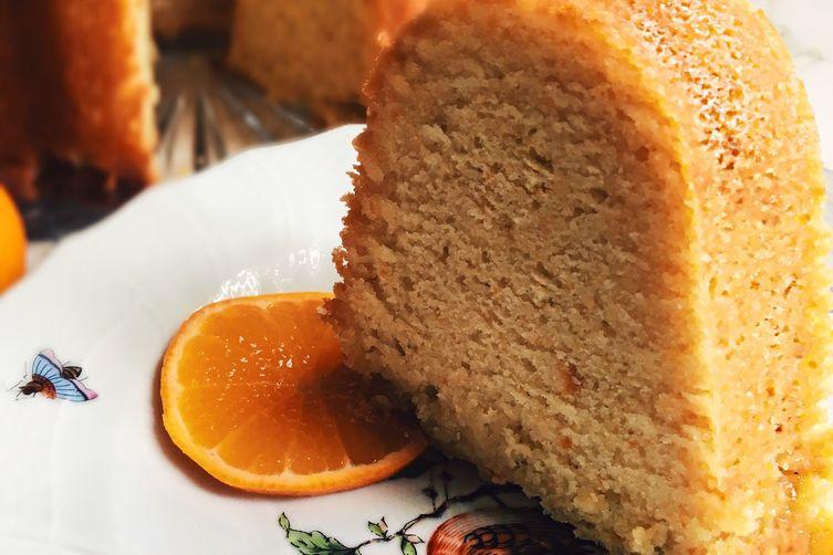 Clementine-Buttermilk Pound Cake