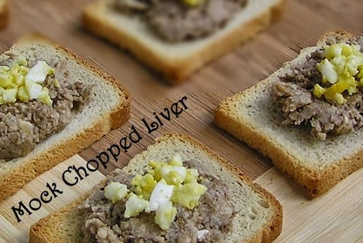 "Vegetarian Chopped ""Liver"""