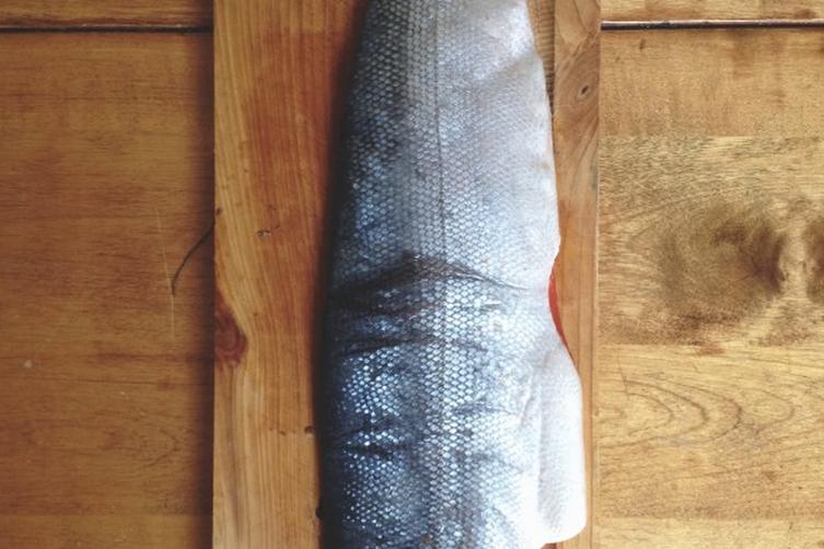 Baked Wild-caught Salmon // Homemade Lemon Butter Sauce