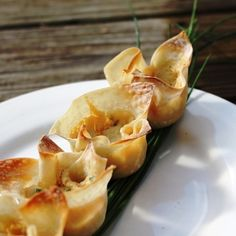 Crab Rangoon Flowers