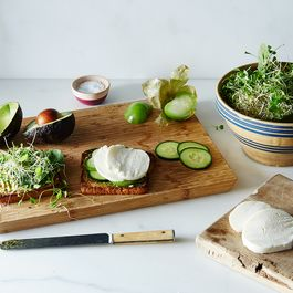 Monster Avocado Toast Sandwich