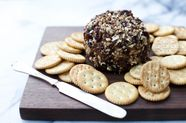 Cheese Ball with Pecans and Dried Cranberries