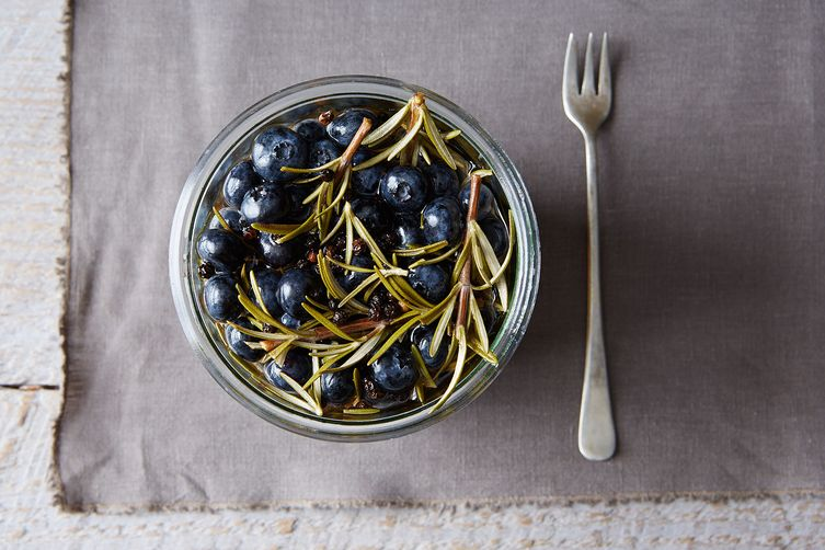 Pickled Blueberries with Rosemary Sprigs Recipe on Food52