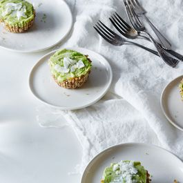 Raw Mini Key Lime Pies