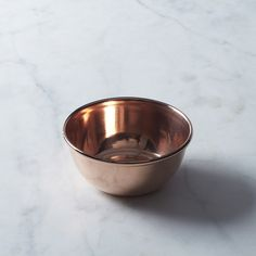 Copper Single Serving Bowls