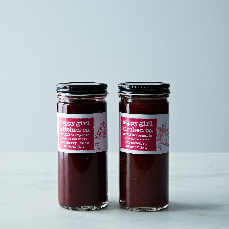 Raspberry And Walnut Kitchen: Raspberry Lemon & Strawberry Jam Duo On Food52