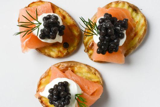 Elegant Smoked Salmon Canapés