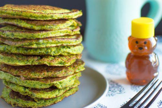 Gluten-Free Spinach Pancakes