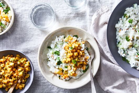 Meet Padma Lakshmi's Genius, *Almost* No-Cook Summer Comfort Food