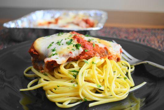 Classic Chicken Parmigiana