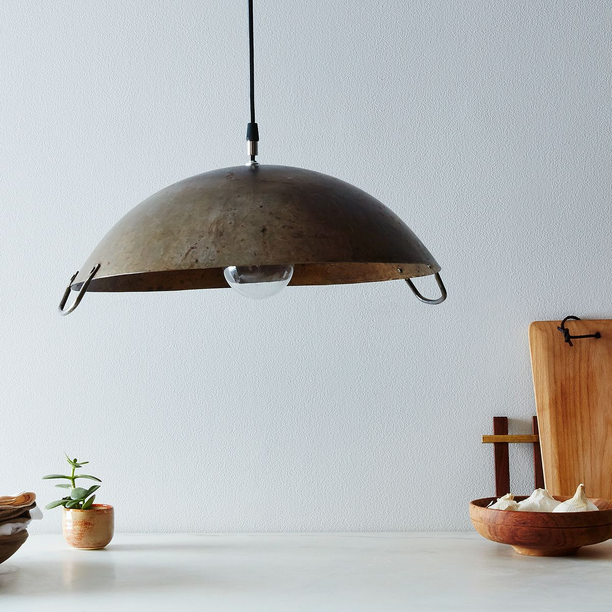 When Life Gives You a Rusty Wok, Make a Lamp