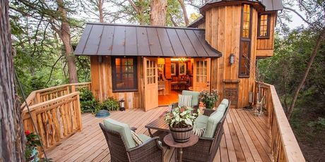 These tiny houses are cool, but their outdoor space is even cooler.