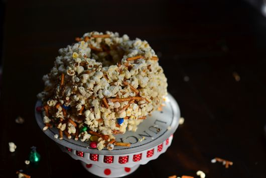 Popcorn-Toasted Cereal Cake
