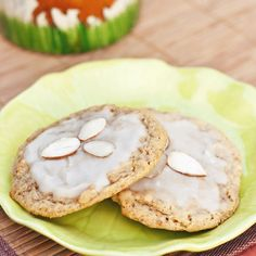 Almond Orange Anytime Cookies