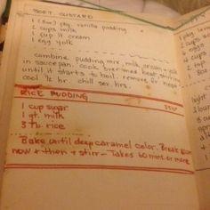 Martha's Caramel Rice Pudding