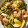 Roasted Shrimp & Asparagus Scampi