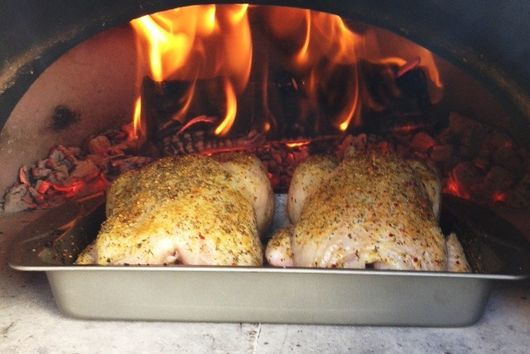 Woodfire Roasted  Chicken And Game Birds