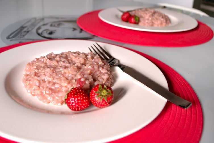 Mamma's Strawberry Risotto