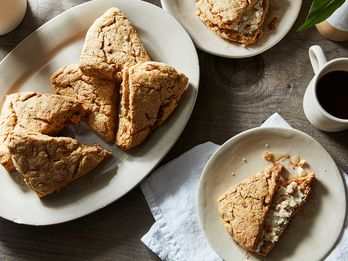 Sweet Persimmons Are Just Right For These Tender, Whole Wheat Scones