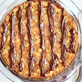 Samoa Cookie Pie