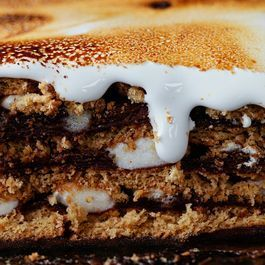S'Mores Pudding Cake