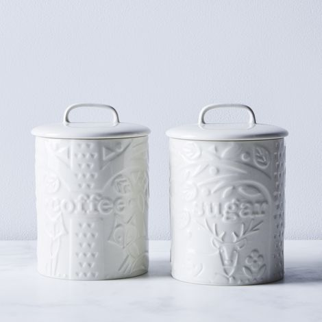 Mason Cash Forest Coffee & Sugar Canisters