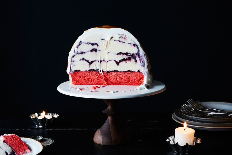 Can I Use A Cake Mix For Baked Alaska