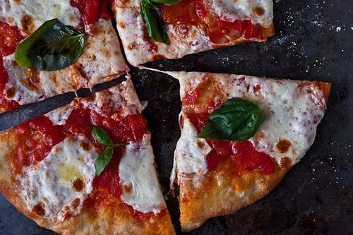 Jim Lahey's No-Knead Pizza Dough + Margherita Pie